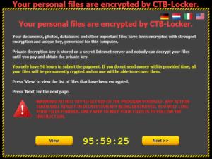 CryptoVirus Cryptolocker